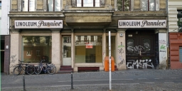 Vanishing Berlin – revisited #1: Linoleum Pannier. Vernissage am 15.07.2016