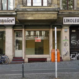 Vanishing Berlin – revisited #1: Linoleum Pannier. Vernissage am 15.07.2016