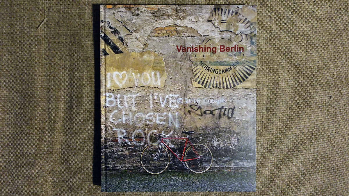 Vanishing Berlin Buch